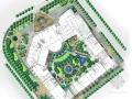[天津]豪华假日酒店中庭景观概念设计汇报方案(手绘)