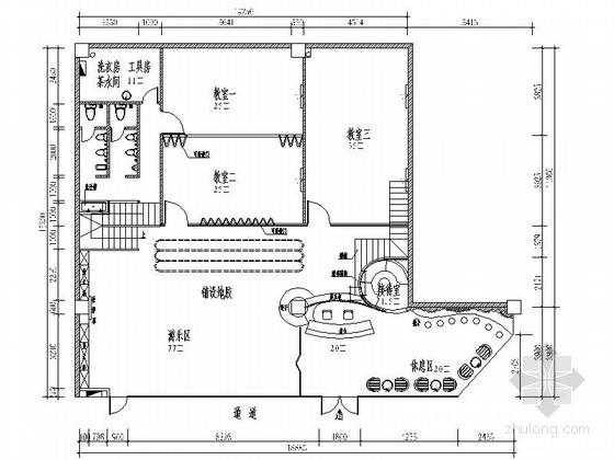[深圳]造型活泼可爱吸引人的早教培训中心(含效果图)