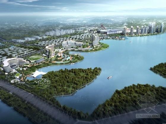 [江西]滨江城梯田框架文化旅游区规划设计方案文本(含SU CAD 推荐下载)