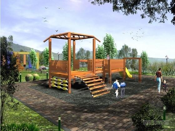 [湖南]滨江观光绿化带景观规划设计方案