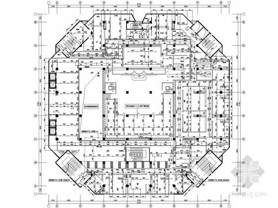 大型娱乐场所建筑给排水图纸