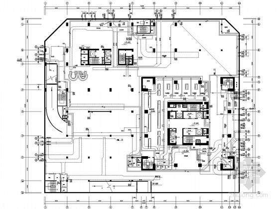 [深圳]51层超高层商业综合体给排水全套图纸(气体灭火 泡沫灭火)