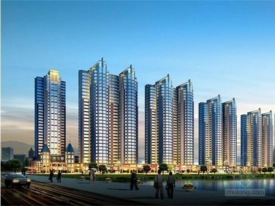 [知名地产]大型住宅项目成本利润测算实例(全套表格)