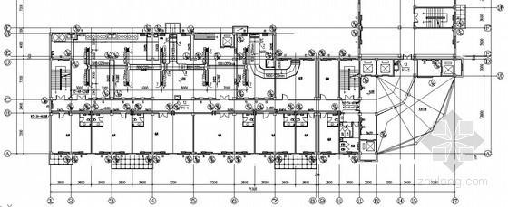 办公楼采暖通风防排烟设计施工图