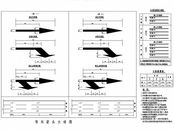 [湖南]市政道路交通设施工程施工图设计20张