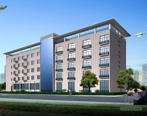 [东莞]办公楼建筑安装工程招标文件及招标控制价实例(全套CAD图纸)