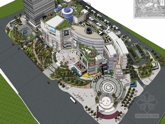 [济南]体验式五星级商业景观新型城市综合体规划设计方案