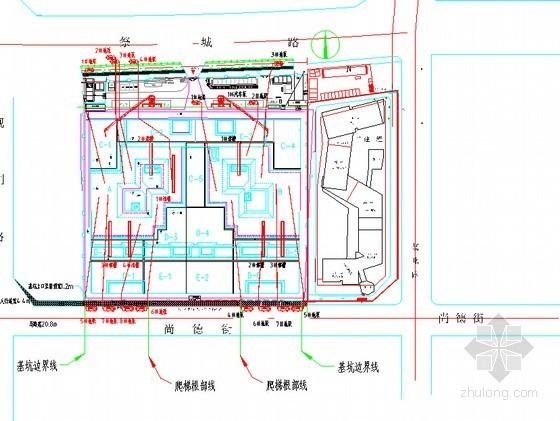 [河南]框剪结构商住楼工程泵管支架施工方案(44页)