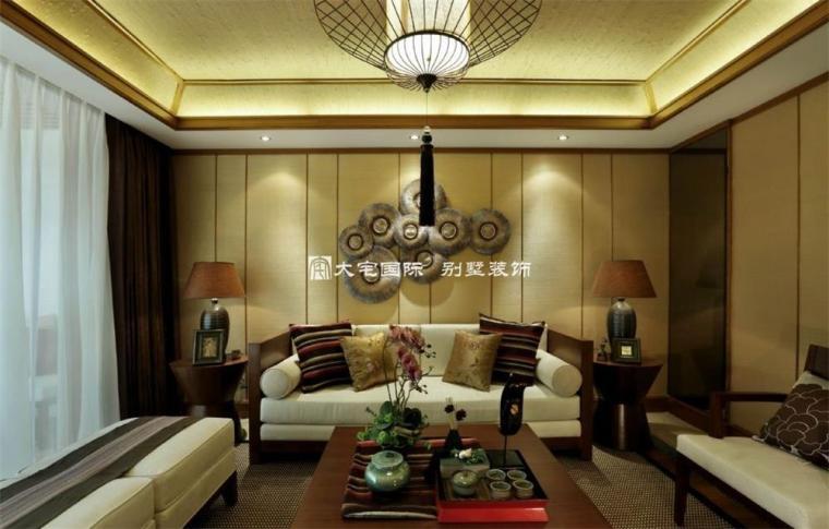 东南亚风格样板间设计上_5