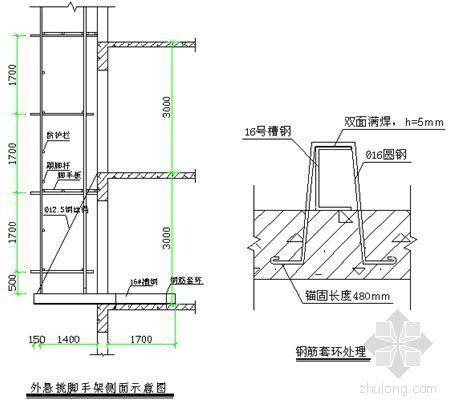 浙江某高层住宅脚手架施工方案及计算书
