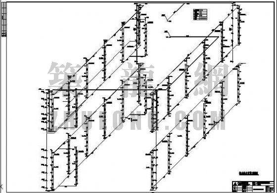 广东某十四层综合楼给排水全图