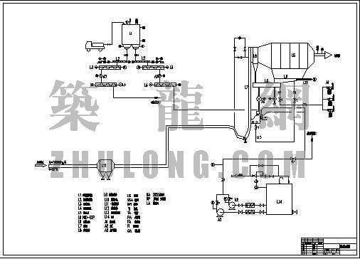 烟气脱硫系统工艺流程图