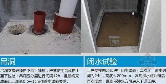 房建工程防水施工技术措施要点总结汇报(65页 图文结合)