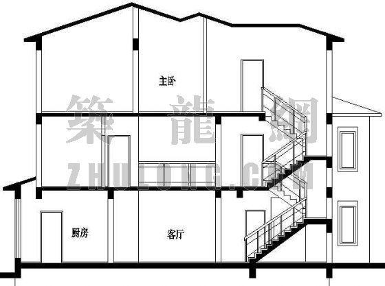 某精致别墅设计方案(2)-3