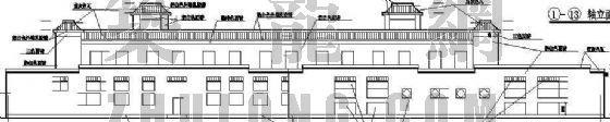 某学校餐厅建筑设计方案-2