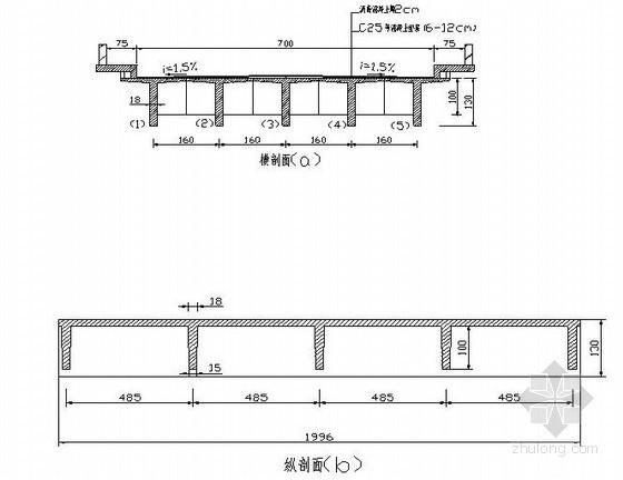 [课程设计]钢筋混凝土T梁桥设计