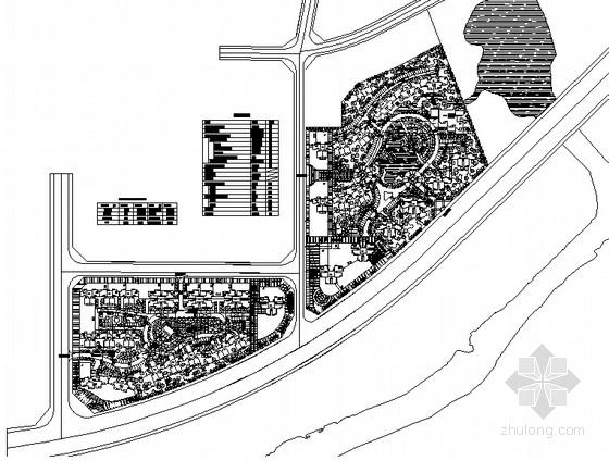 [景德镇]居住区景观规划设计平面图