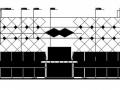 某四层超市建筑施工图(带效果图)