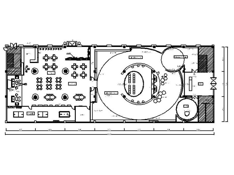 [常州]新区中心区域某科技技术展厅室内设计施工图