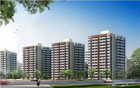 24层框架结构住宅楼建筑安装工程造价指标分析(局部28层)
