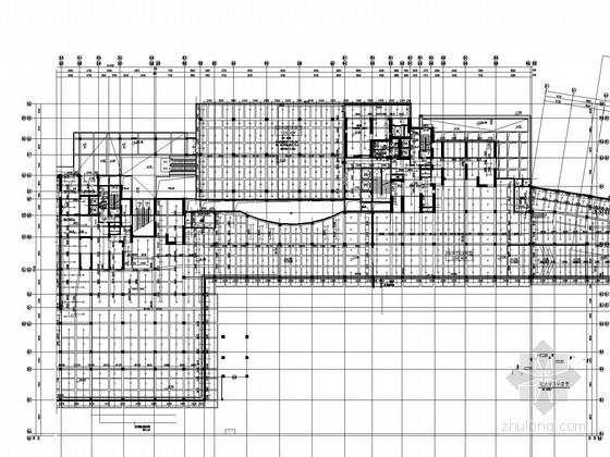 [深圳]10万平高层商住塔楼建筑给排水施工图纸(室外游泳池 水处理工艺)