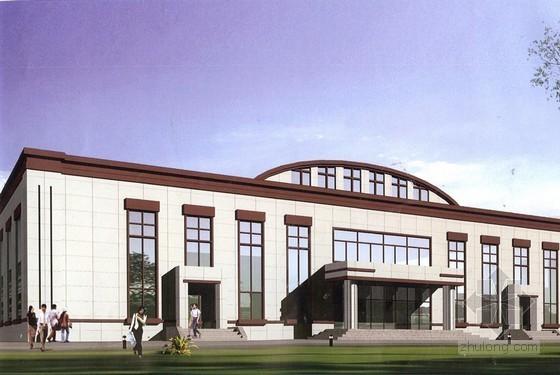 [北京]报告厅改造项目建安工程概算书全套(附建筑、给排水、暖通、电气施工图纸)