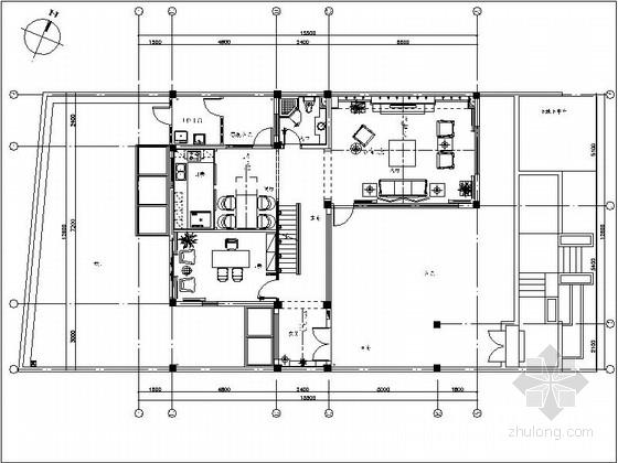 [昆山]新古典双层别墅样板房装修图(含效果)