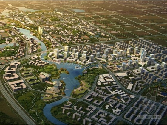 [湖南]创新型教育科技园控制性规划设计方案文本