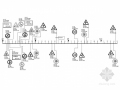 [湖南]二级公路交通安全设施施工图46张(标志标线护栏)