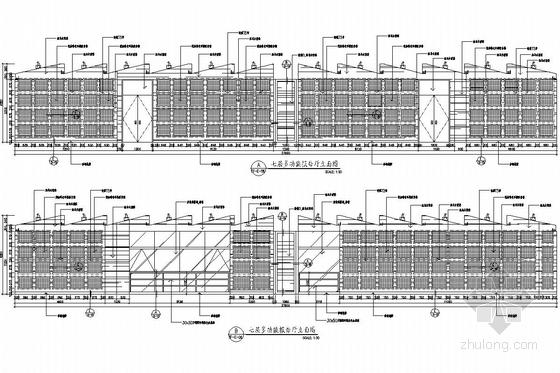 [杭州]市中心核心地带重点惠民工程文化中心装修图(含实景图) 多功能里面具体