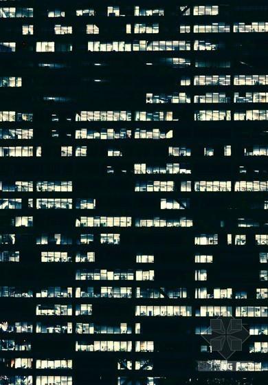 建筑外立面灯光贴图