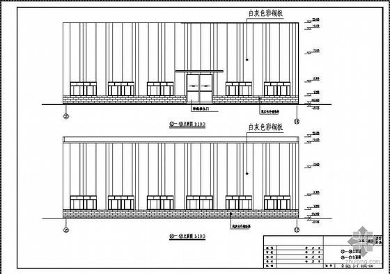 湖北某公司厂房扩建建筑结构图