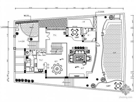 [澳门]某欧式庭院别墅精装施工图