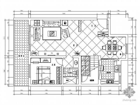 [上海]现代别墅空间设计图