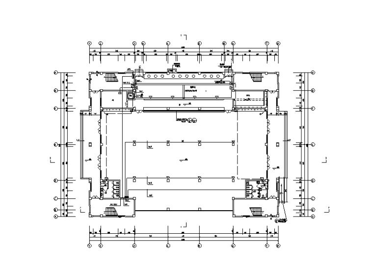 湖南省公租房电气及消防施工图(含水泵房、食堂、活动中心)