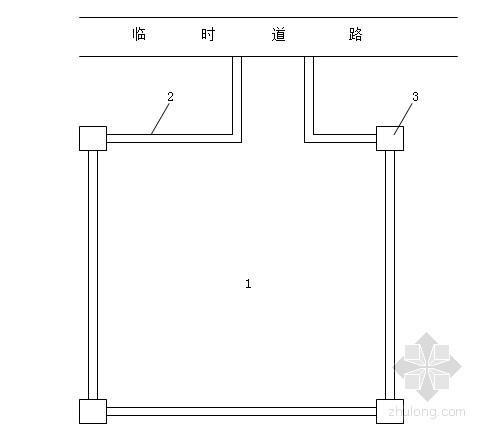 江苏水源保护综合治理工程施工组织设计(围堰填筑)