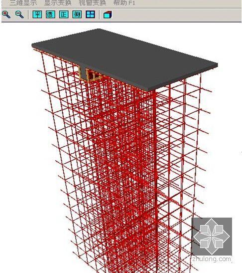 高支撑架三维建模