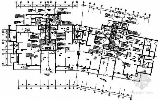 [海南]度假区B型高层住宅电气图纸