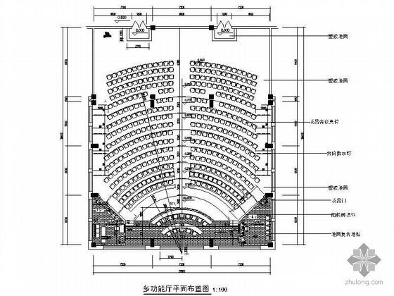 500平方多功能厅设计图(含效果)