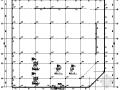 地下两层无梁楼盖车库结构施工图