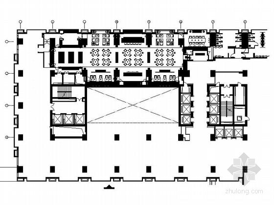 [北京]某豪华酒店意大利特色餐厅施工图