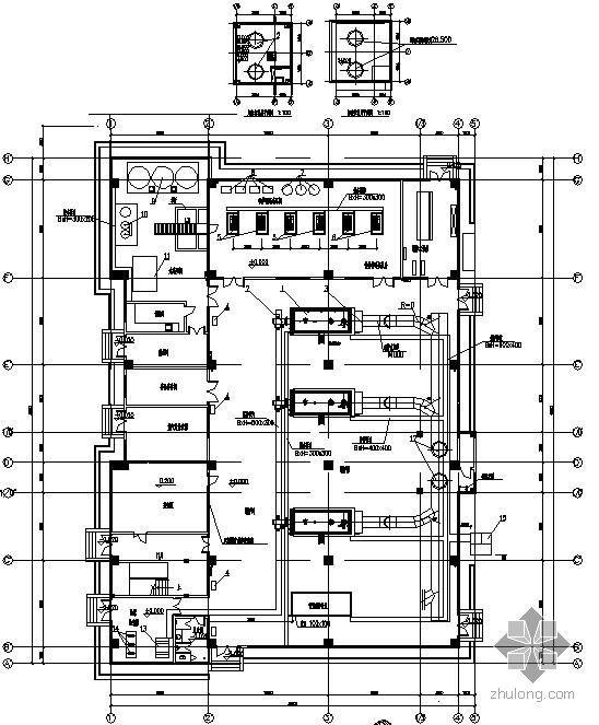 上海某能源中心锅炉房图纸