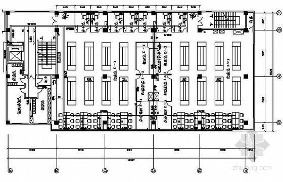 某四层科研楼弱电系统电气图纸