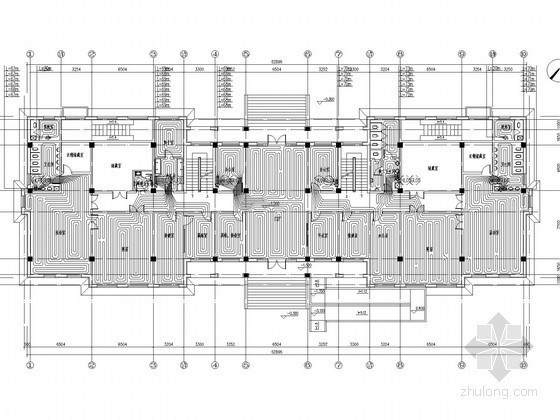 [辽宁]多层幼儿园采暖通风系统设计施工图