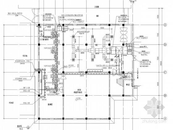商业综合楼空调系统设计施工图(含给排水设计)