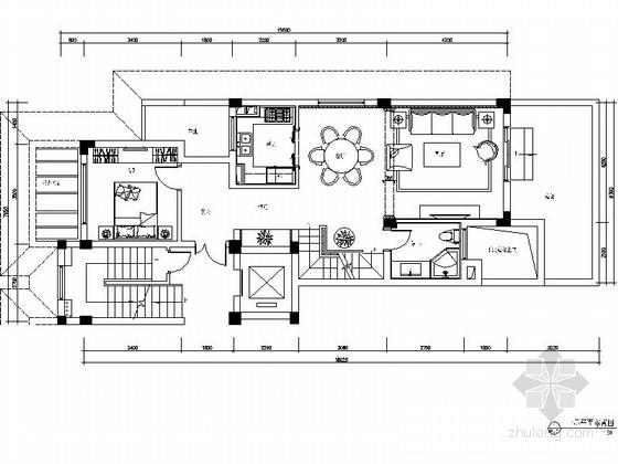 [杭州]220平方古典风格双层别墅室内装修图(含实景)