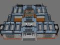 SU 模型新中式纪念馆,可以抄的好模型