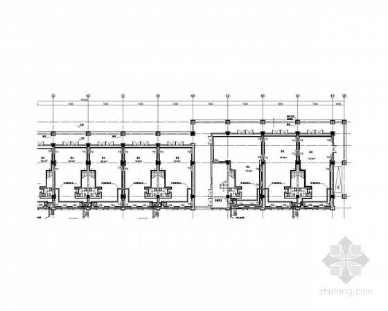 三层公共建筑采暖通风系统设计施工图(施工大样图)