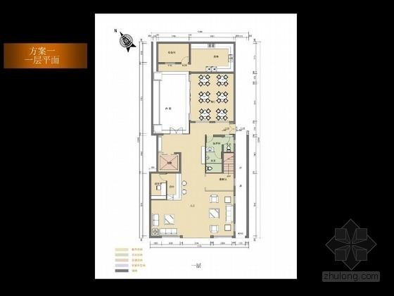 经典徽派客栈室内设计方案