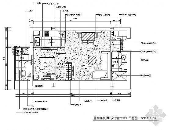 复式楼的设计---现代复古